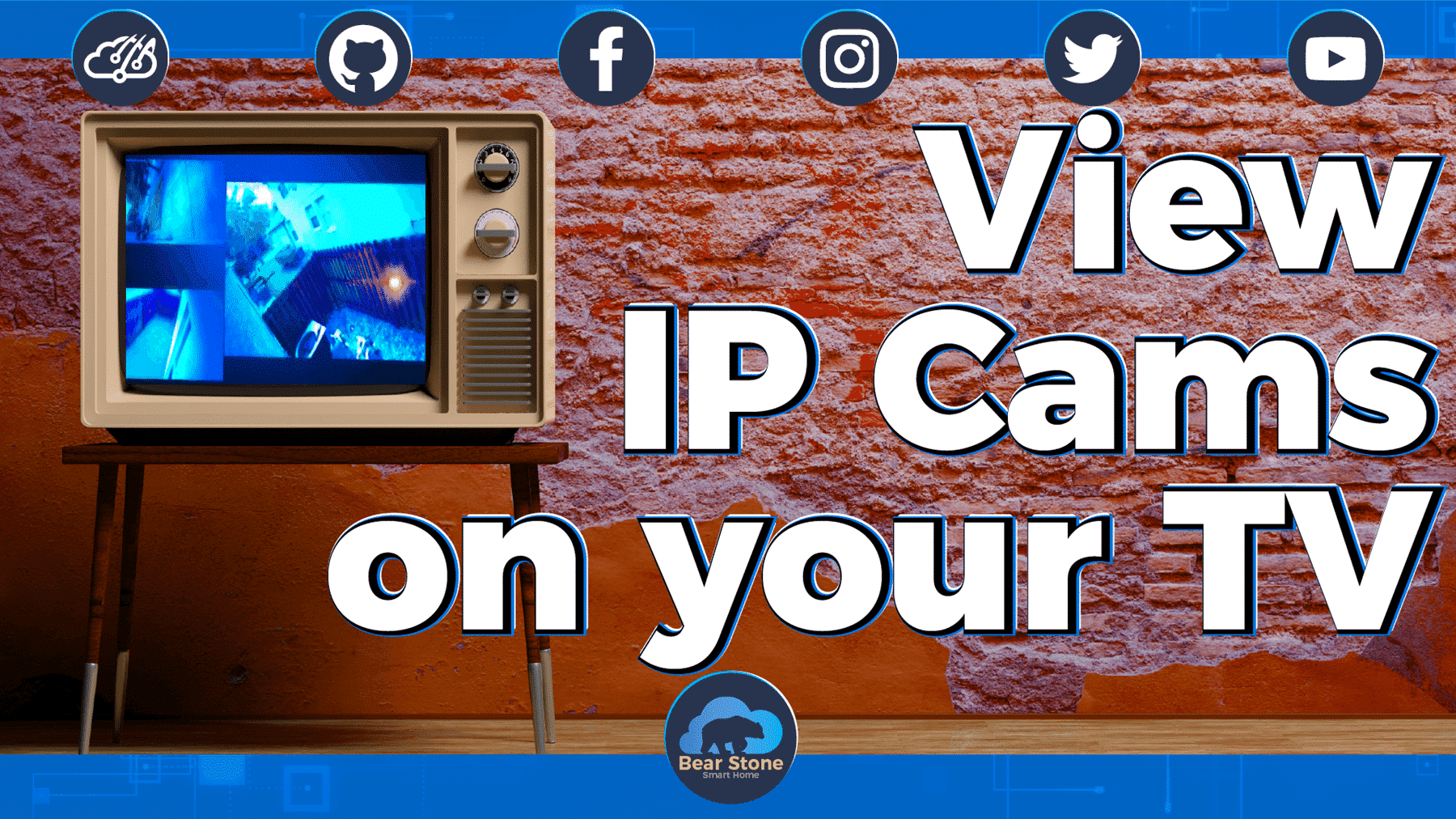 IP Camera feeds via Roku on Any TV