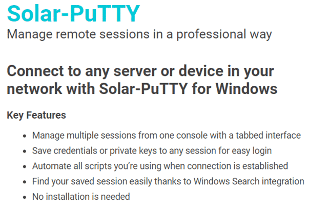 A new Putty! Free from Solar Winds
