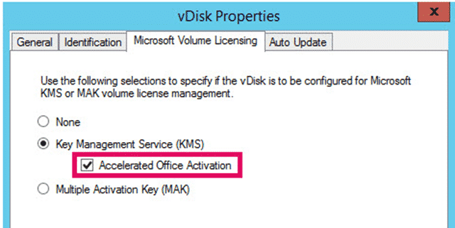 What does Accelerated Office Activation really do in Citrix PVS? 1