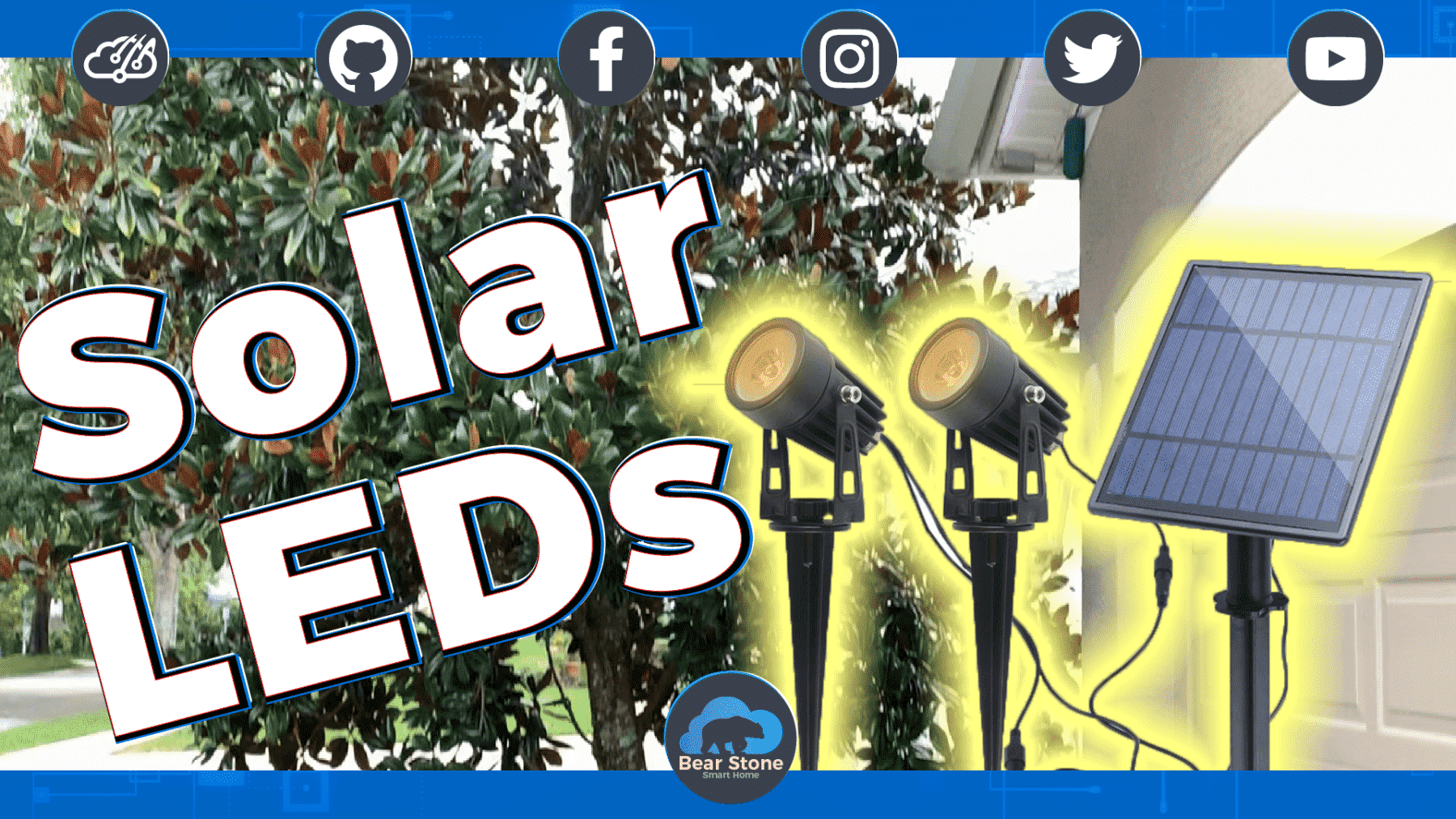 LED Solar Spotlight Video - 2W and no Smarts! What?!?