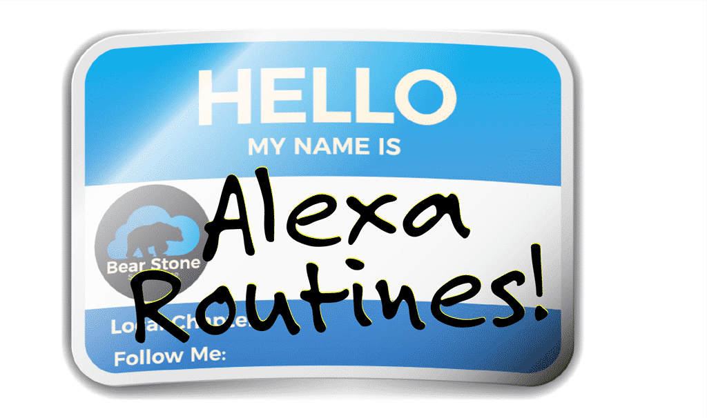 How to Name your Alexa Routines 1