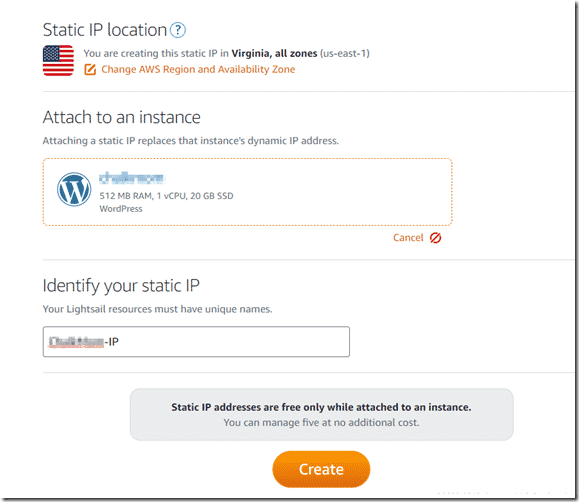 Creating a Website in Amazon Lightsail for ~4 Bucks 5