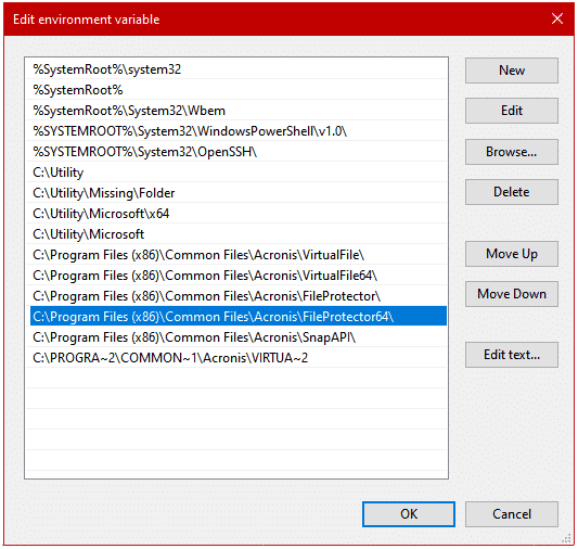 A Better Windows Path Manager 2