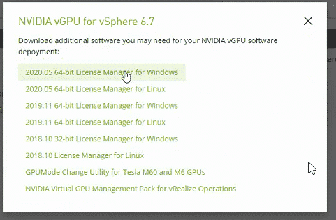 Updating and installing NVIDIA GPU drivers on VMware vSphere 7