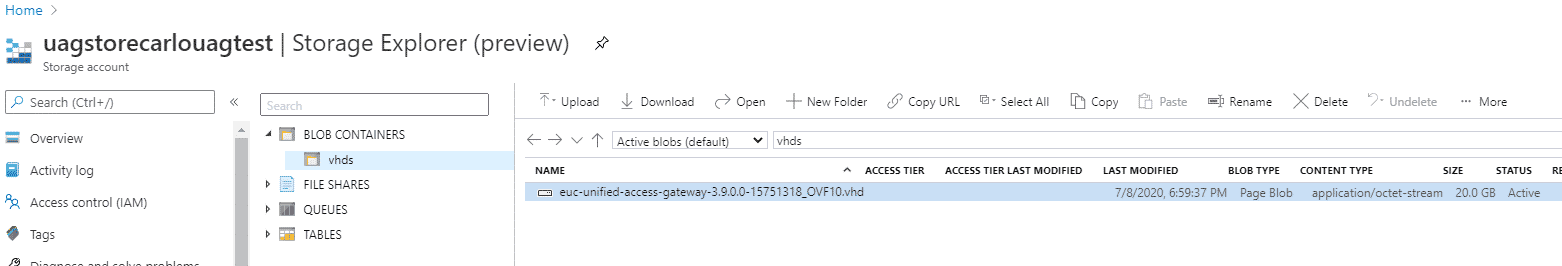 How to Deploy VMware UAG to Azure 4