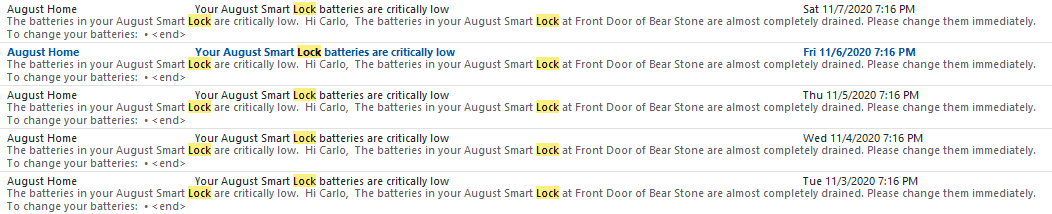 How to change August Smart Lock Batteries 2